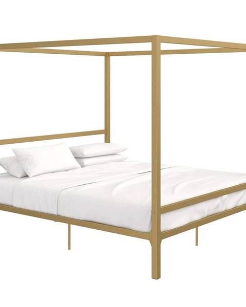 Zlatá posteľ Tempo Kondela