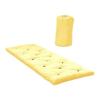 Posteľ pre návštevy Karup Design Bed in a Bag Yellow